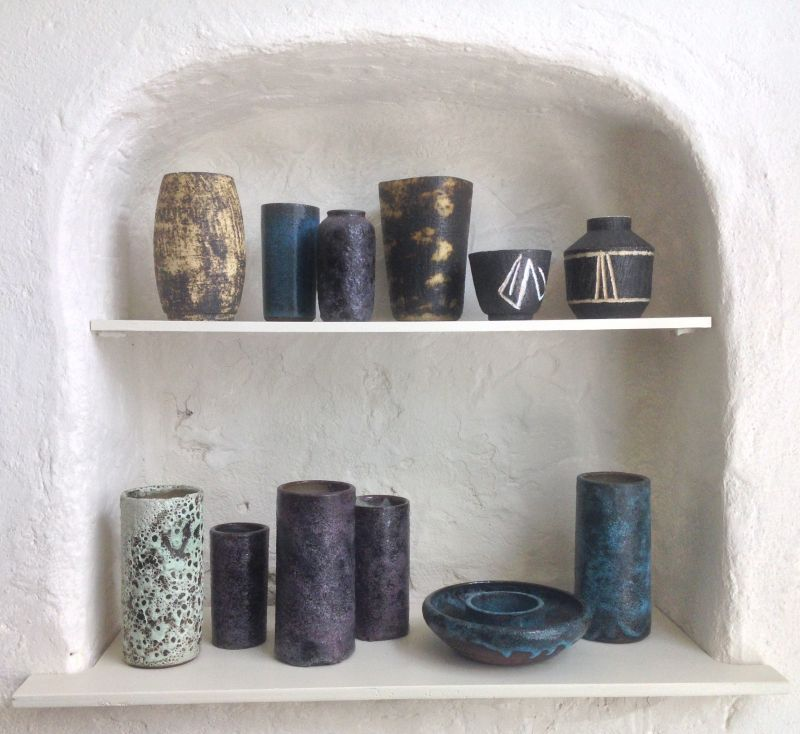 New: Studio Pottery and Glass