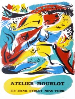 André Masson (1896-1987) lithografie