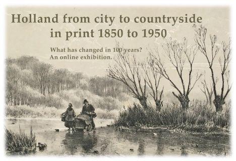 Holland from city to countryside in print