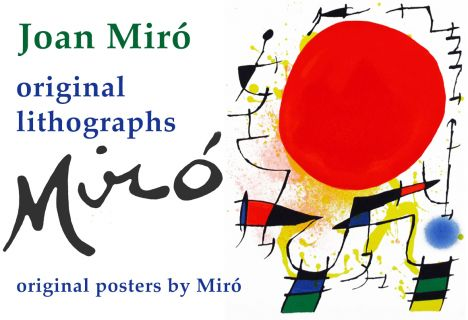 Joan Miró litho's en originele affiches